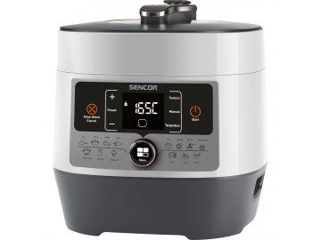 Elektrický tlakový hrnec Sencor SPR 3600WH  + kupón na nákup