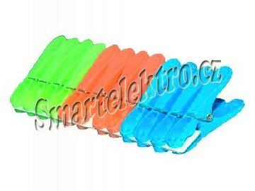 HP kolíčky na prádlo 12 ks plast JUMBO