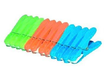 Kolíčky na prádlo 12 ks plast JUMBO