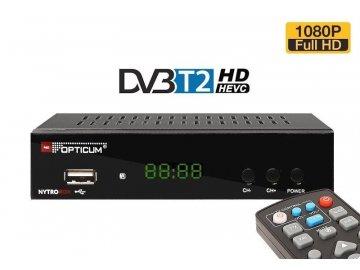 dvb t2 prijimac opticum nytro box h265 hevc