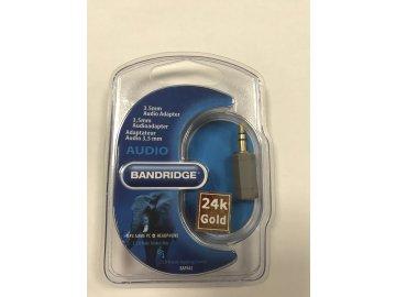 Redukce jack 3,5 vidlice stereo - jack 2,5 zásuvka stereo