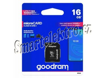 goodram microsdhc 16gb uhs i u1 i268272