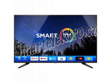 SLE 50US600TCSB UHD SMART TV SENCOR  + ZDARMA kabel HDMI