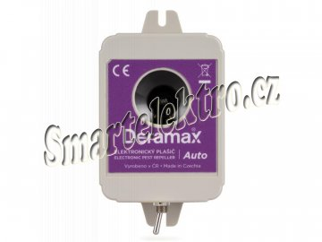 Deramax Auto ultrazvukový plašič/odpuzovač kun a hlodavců do auta