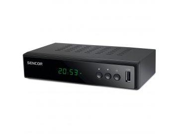 SENCOR SDB 5005T DVB-T2 přijímač SET-TOP BOX