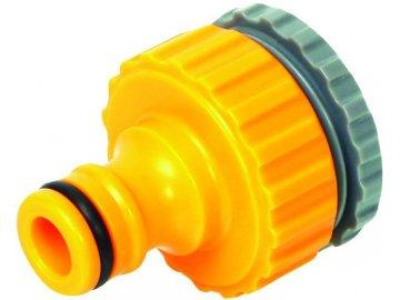 """adaptér 1/2""""- 3/4"""" vnitřní závit plast na rychlospojku 1/2"""""""