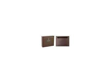 Poštovní schránka Radim 36x31x9 cm velká - hnědá
