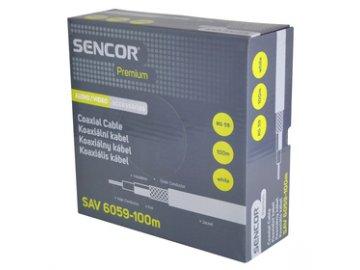 Sencor SAV 6059-100m Koax. kabel RG-59