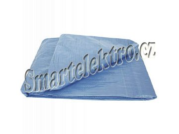 XTline P19562 plachta PVC s oky 80g/m² 2x3m