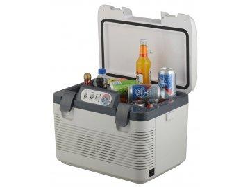 Chladící box 19l + display 220V/24V/12V DOUBLE