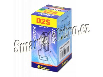 Výbojka D2S XENON homologovaná 4200K