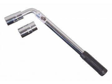 Klíč na kola 17-19/21-23 mm TÜV, GS