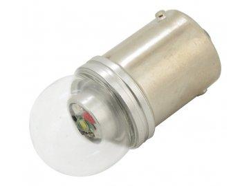 Žárovka 1 SMD LED 6chips 12V Ba15s CAN-BUS ready bílá 1ks