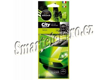 Osvěžovač Aroma CAR CITY LEMON