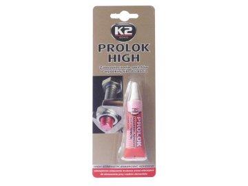 K2 PROLOK HIGH Fixátor šroubových spojů 6g červený
