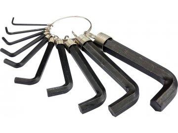 Sada klíčů imbus 10 ks 2 - 14 mm