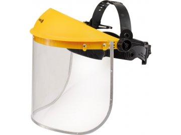 Helma s odnímatelným štítem