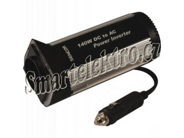 Měnič napětí 12V/230V 140W SENCOR INV140