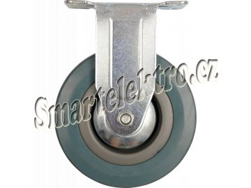Kolečko pevné, gumové  45kg 100/26/134mm