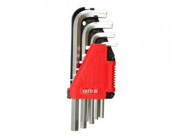 Sada klíčů imbus 10 ks delší YT-0508