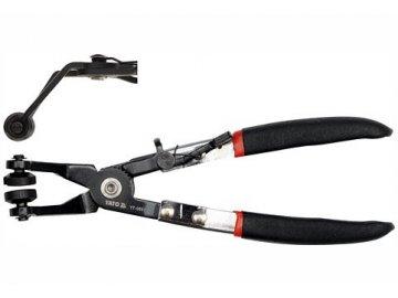 Kleště na samosvorné hadicové spony 230mm 45°