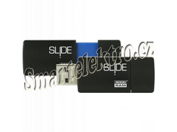 USB FD 8GB SL!DE BLUE USB 2.0 GOODRAM