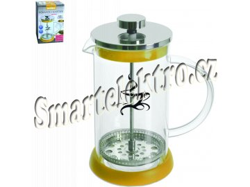 French press 0,8 l sklo / nerez kafetier