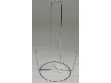 Držák na kuchyňské utěrky 28,5x13 cm nerez- 2027