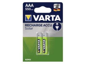 baterie varta solar accu 550 ma r03 aaa bv56733