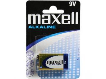 Baterie Maxell Alkaline 9V 1ks 6LR61