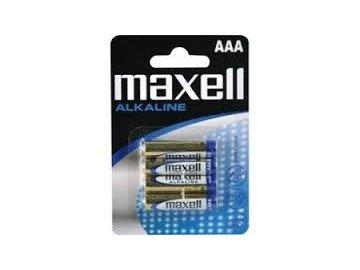 Baterie LR03 Maxell AAA 4ks