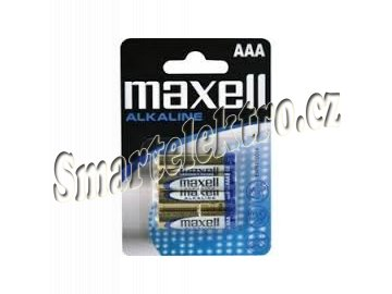 Baterie Maxell AAA 4ks