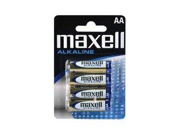Baterie LR6 MAXELL AA 4ks
