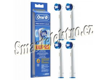 Nahradni hlavice EB20 4 Precision Clean kartacky oral B