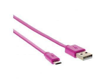 Sencor SCO 512-010 USB A/M-Micro B, růžový