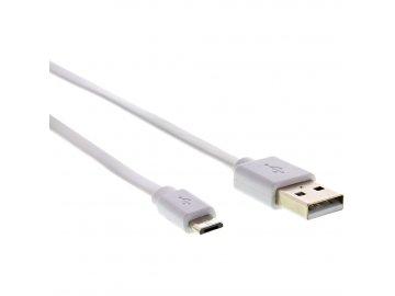 Sencor SCO 512-010 USB A/M-Micro B, bílý