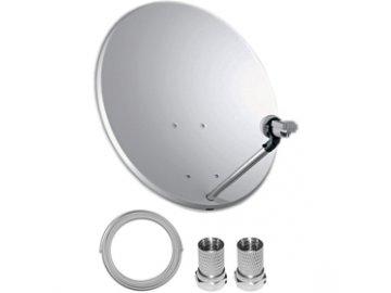Satelitní set 60 cm + LNB Single