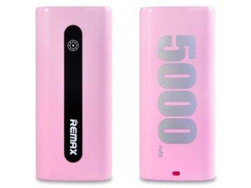 Power Bank Proda E5 5000mAh Růžová REMAX