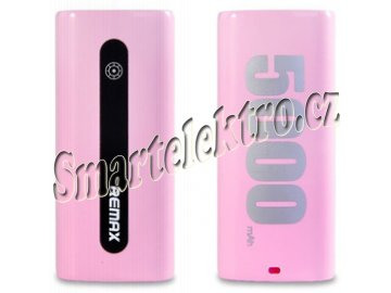 Power Bank Proda E5 5000mAh Růžová REMAX