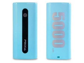 Power Bank Proda E5 5000mAh Modrá REMAX