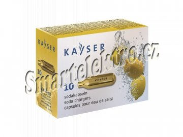 Bombičky do láhve na sodovku 10 ks - sifonové bombičky KAYSER  CO2
