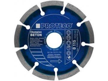 Diamantový segmentový kotouč PROTECO BETON CHAMPION 125 mm (10.211-125)