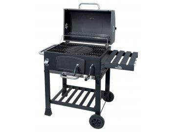 CATTARA 13040 Gril na dřevěné uhlí ROYAL litinový rošt  + ZDARMA kartáč na čištění gilu