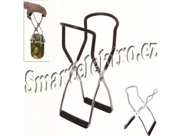 Vytahovač zavařovacích sklenic 22x8 cm nerez/plast