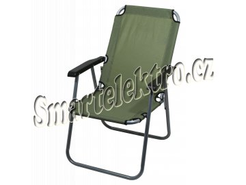 Cattara - Židle kempingová skládací LYON tmavě zelená