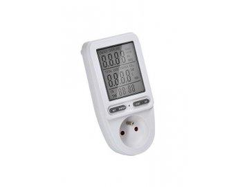 digitalni meric spotreby el energie velky displej dt27