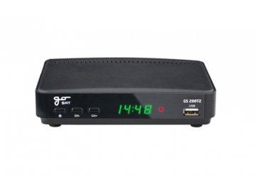 set top box gosat gs200dvbt2 fullhd s hevc h 265 usb prijimac