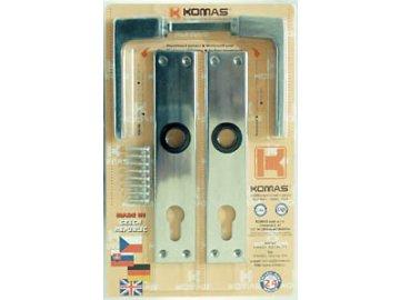 Kování 90 mm FAB dveřní 26102
