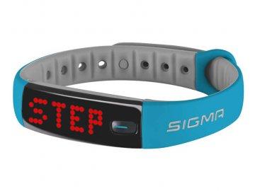 sigma fitness naramek activo blue 14282117