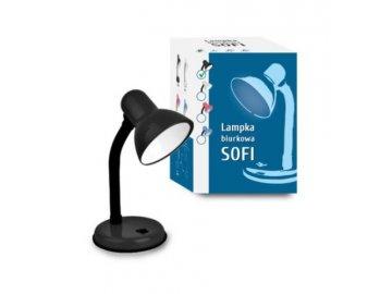 inq kancelarska stolni lampa sofi fn004 cerna